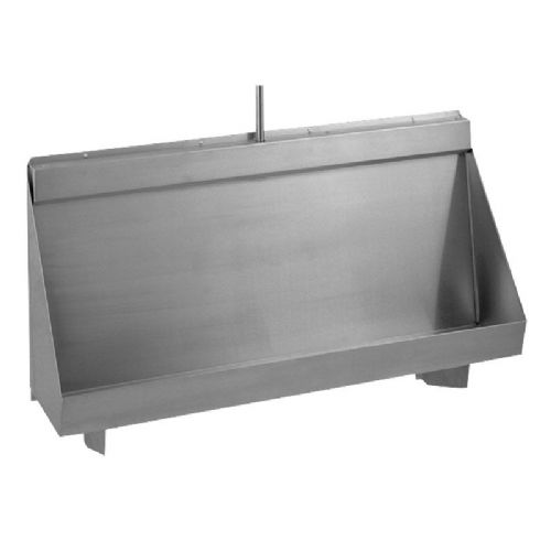 Franke Centinel G20123N 1500mm Wall-Mounted Stainless Steel Urinal Trough with Concealed Cistern